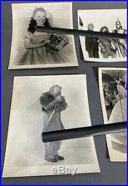 1939 The Wizard of Oz Dorothy & Main Characters Vtg Studio Photo Lot 8