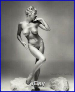 1950 Original Andre De Dienes Female Nude Body Vintage Silver Gelatin Photograph