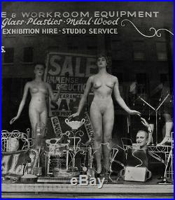 1950s Vintage Female Nude Woman By Zoltan Glass Mid Century Photo Litho Fine Art