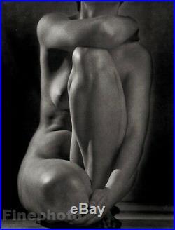 1952/86 Vintage RUTH BERNHARD Female Nude Woman Classic Torso Photo Engraving
