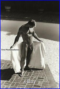 1998 Jay Jorgensen Original Male Nude Muscle Joseph Myska Silver Gelatin Photo