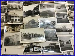 400 Photos Lot Vintage Photographs Snapshots Old Houses Buildings Architecture