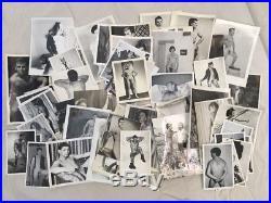85+ Vintage Black & White Homo Erotic Male Nudes Photography LOT