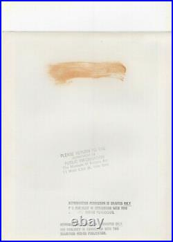 Andre Kertesz, Tuscany, Italy, 1930, printed c. 1960s, MOMA Stamp