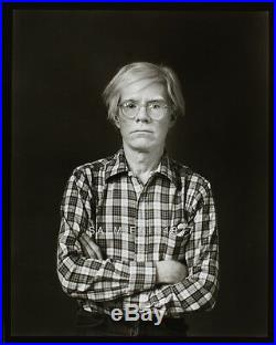 Andy Warhol Portrait Photo 8x10 Vintage B&w Darkroom Print Signed Original1977