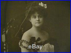 Anna Laughlin 1900's Actress Photo Vintage Wizard Of Oz Dorothy Joseph Gehrig