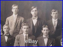Antique Vintage 1911 Keystone Baseball Team Id'd Players Mammoth Rare Photograph