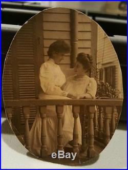 Antique Vintage Artistic Love Lesbian Int Lgbt Vernacular American Women Photo