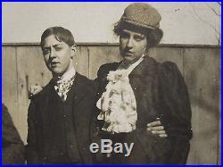 Antique Vintage Museum Quality Lgbt Butch Femme Lesbian Int Crossdress Hat Photo