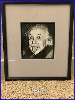 Authentic Original vintage Albert Einstein Photograph