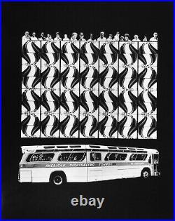 Barbara CRANE Bus People, Chicago, 1975 / VINTAGE Silver Print / SIGNED