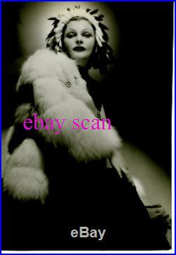 CLAIRE LUCE Vintage Original DBLWT Over-size Photo PHYFE RARE 1938 Portrait