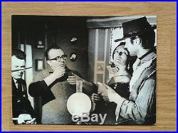 CLINT EASTWOOD vintage behind the scenes photo SERGIO LEONE Fistful Of Dollars