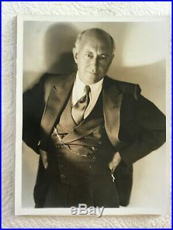 Cecil B. DeMille vintage portrait by Hurrell