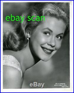 ELIZABETH MONTGOMERY Vintage Original Photo 1955 Stunning Portrait by BERT SIX
