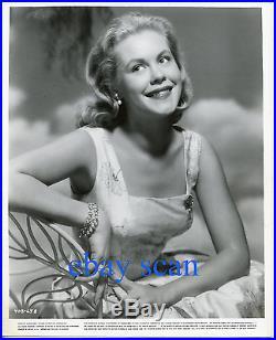 ELIZABETH MONTGOMERY Vintage Original Photo BERT SIX Smiling 1955 Portrait #1