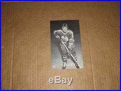 Edmonton Oilers WHA Wayne Gretzky vintage JD McCarthy B&W postcard photo ExMt