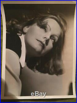 GRETA GARBO Vintage 1930s Photo by Clarence Sinclair Bull