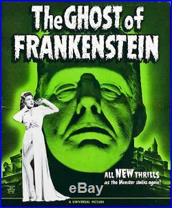 Ghost Of Frankenstein Original Vintage Uncut Press Book 1942