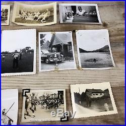 HUGE LOT 1,000 VINTAGE B & W SNAPSHOT PHOTOS 1910-1960s