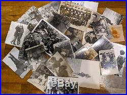HUGE LOT VINTAGE PHOTO 550+ OLD PHOTOGRAPHS Beach Soldiers Weapon Portrait etc