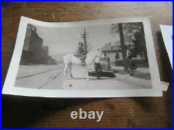 Huge Lot of Antique Black and white Photo's pre 1945 USA Vintage