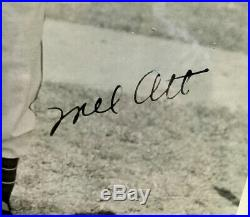Investment Grade Mel Ott Vintage Autographed B&w Photo-psa/dna Uninscribed