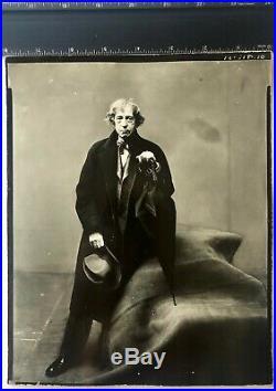 Irving Penn John Marin Vintage Silver Gelatin Print Photographers Handstamp