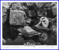 J. Thomas Young Vintage 1981 Jessica In Seclusion 8x10 Photograph Weston Like