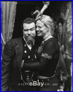 Joe Coleman & Whitney Ward Photo 8x10 B&w Vintage Dkrm Contact Print Sign Orig