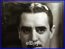 John Gilbert George Hurrell Photo Black & White Vintage Photo 11 X 14 Rare Size