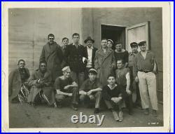 King Kong Cast Photo 1933 On Set Merian C Cooper, Bruce Cabot RKO Pictures