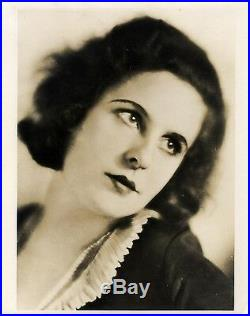 LENI RIEFENSTAHL (ca. 1934) Vntg original 8x10 sepia print Lady of German cinema