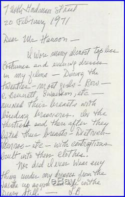LOUISE BROOKS Vintage Original Photo 1926 AMERICAN VENUS & Autograph LETTER Rare