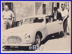 Large vintage photo Cisitalia Pininfarina coupé car foto auto Italy PKW ca 1950