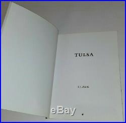 Larry Clark Signed Tulsa Book Art Photograph Photo Photography Black White Vtg