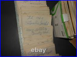 Lot of 1960's Vintage Photo Negatives Black & White from Newspaper