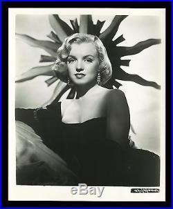 MARILYN MONROE CineMasterpieces VINTAGE ORIGINAL MOVIE PHOTO STILL RARE 1953