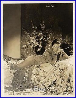 MASK OF FU MANCHU, THE (1932) Vntg orig 8x10 still Myrna Loy as evil daughter NF
