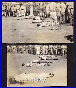 eb8278b24aa49 MASS EXECUTION DEAD MEN on STREET 1930s VINTAGE CHINA POST MORTEM ...