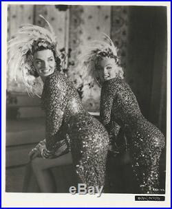 Marilyn And Jane Russell Gentlemen Prefer Blondes (1953) Vintage 8 X 10