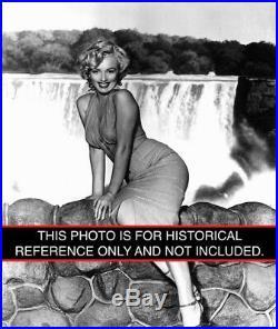 Marilyn Monroe 1953 Vintage Press Photo Negative Niagara Bruno Bernard 8x10