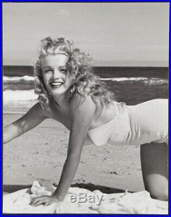Marilyn Monroe Original Vintage Andre De Dienes Photo