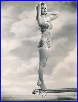Marilyn Monroe Original Vintage Type I Photo/ Photo Shoot 1950