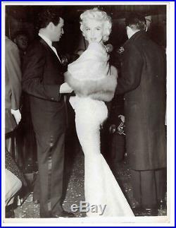 Marilyn Monroe Photo 1955 East of Eden Premiere Press photo vintage