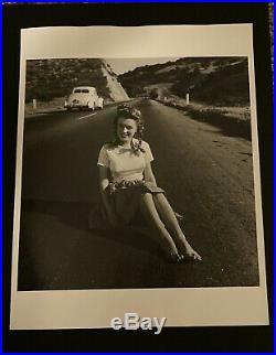 Marilyn Monroe Young Rare 1945 Vintage Dblwt Photograph By Andre De Dienes