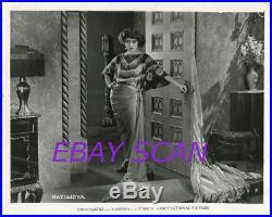 NAZIMOVA Vintage Original Photo Madonna of Streets 1924 Rare SEXY PORTRAIT