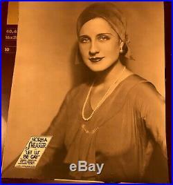 NORMA SHEARER FABULOUS vintage 1930 ORIGINAL MGM JUMBO LOBBY CARD LET US BE GAY