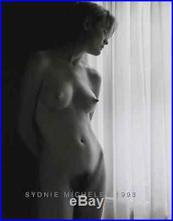 Nude Female Photo 8x10 B&w 1993 Darkroom Print