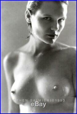 Nude Female Photo 8x10 B&w 1993 Dkrm Print Signed